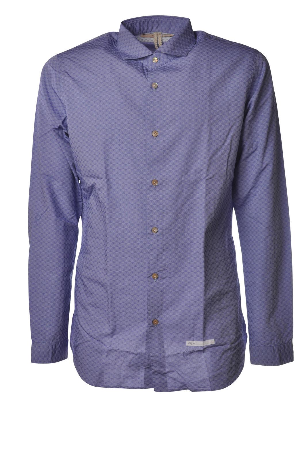 Dnl - Shirts-Shirt - Man - Blau - 5254818D181500