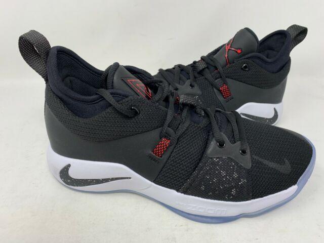 finest selection f96fc 5ba8c NEW! Nike Men's Paul George 2 Taurus Shoes Black/Red #AJ2039-003 161V tz
