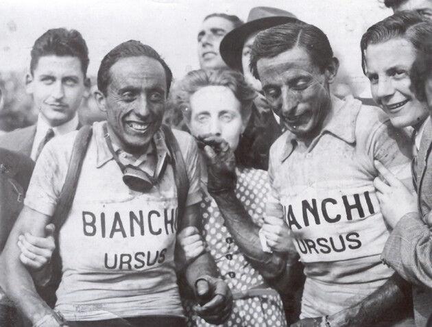 Bianchi Ursus vintage style wool jersey, chainstitch, Größe maglia, maillot XL Größe chainstitch, 9ccedc