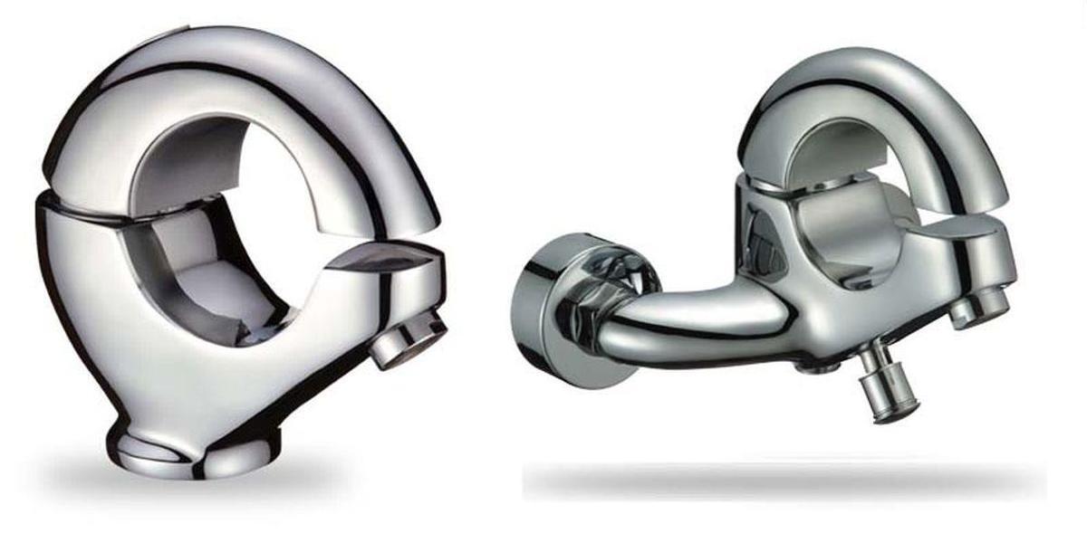 Exclusives Set Design Armatur und Wannen Armatur   Badarmatur   Waschtisch