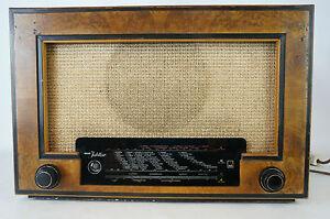 Wega-Jubilar-Roehrenradio-UKW-vorbereitet-1949-1950-gecheckt-gut-Tube-Valves
