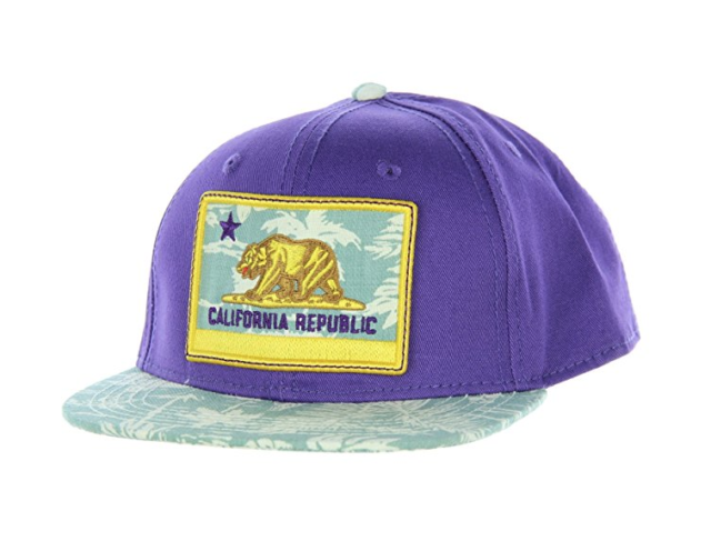986586e8df1 Official Crown of Laurel California Republic Monarch Youth Snapback ...