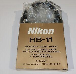 Genuine-Nikon-HB-11-Lens-Hood-NEW-UNUSED