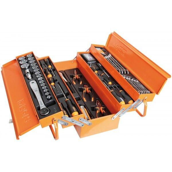 Cassetta estensibile con 5 scomparti 91 utensili codice 2120L-E/T91-I marca BETA