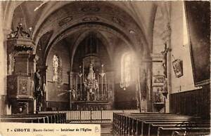 CPA-Choye-Interieur-de-l-039-Eglise-636646