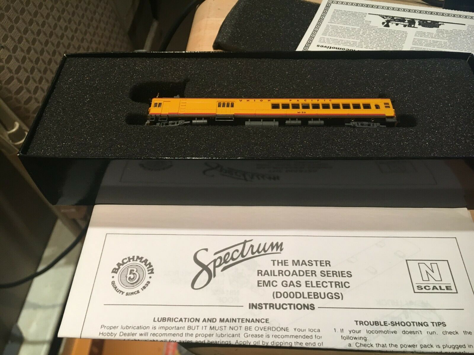 Bachmann Spectrum Union Pacific Gas Eléctrico (Doodlebugs) de EMC Ing. escala N  81453