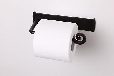 Merveilleux Wrought Iron Toilet Paper Holder Stand Handmade Roll Hanger Bathroom Decor  688945875152   EBay