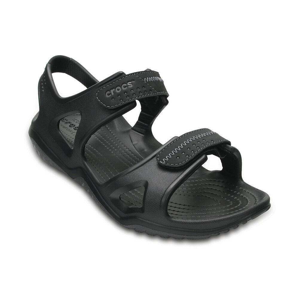 Crocs Sandalo Swiftwater men - black - 203965