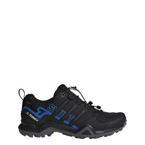 Details zu Adidas Terrex Swift R2 GTX Herren Trekkingschuh Gore Tex Black Blue Gr 11 + 12