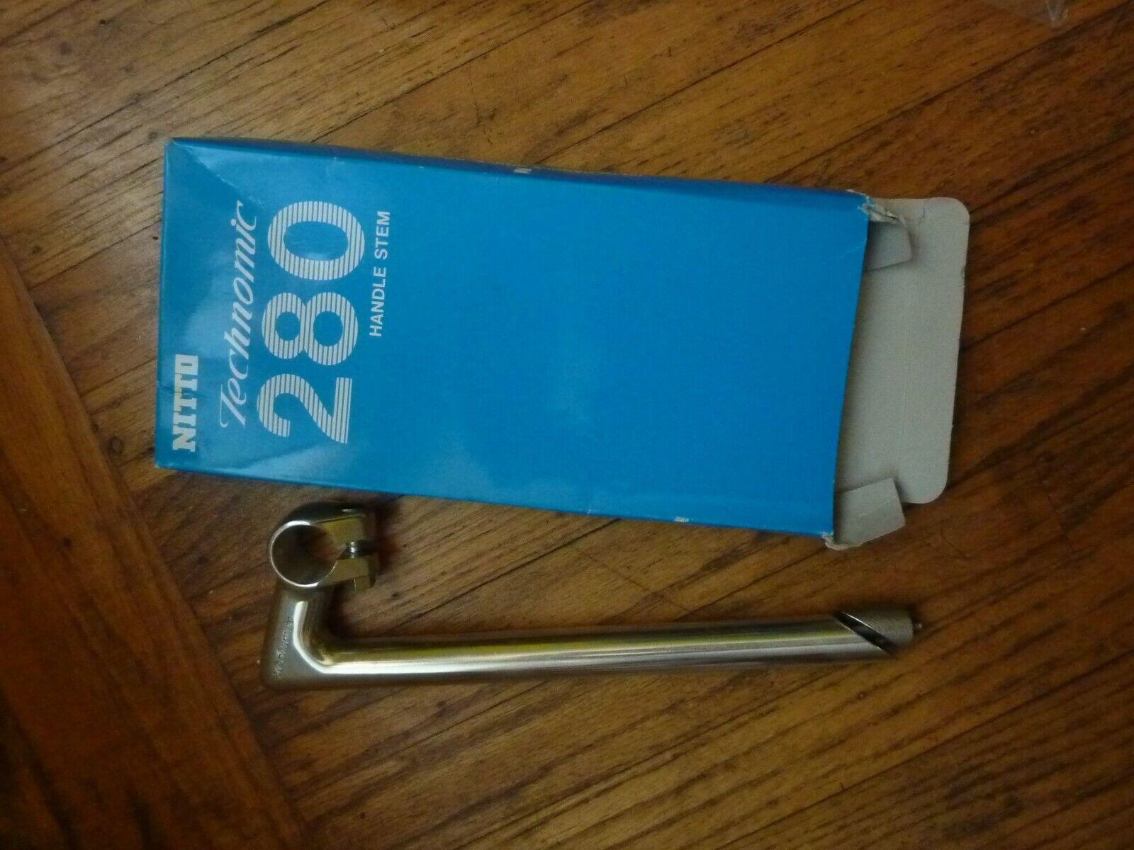 BRAND NEW  Nitto Technomic Stem 22.2 mm 25.4 mm clamp