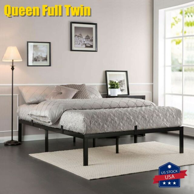 Best Mattress Queen Bed Frame Mission, How Many Inches Is A Twin Size Bed Frame