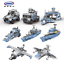 Xingbao-Building-Blocks-Warship-Military-Future-Dreamer-Giant-Excavator-Police thumbnail 34