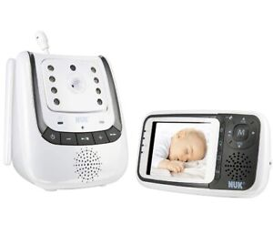NUK Babyphone Eco Control+ Video, Full Eco Mode + OVP