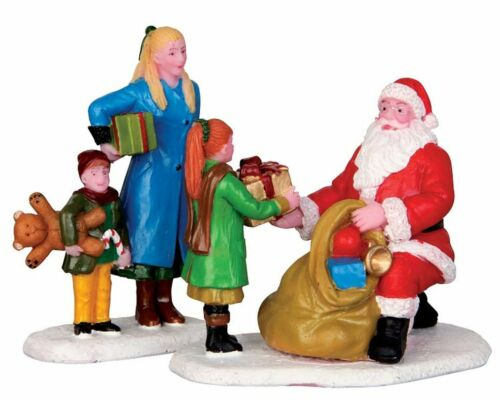 Weihnachtsdorf Presents From Santa Modellbau, Set//2 42245 Lemax 611