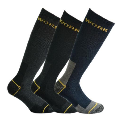 lungo 6 paia di calze Fontana da lavoro rinforzate su punta e tallone mod