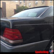 Rear Roof Spoiler Window Wing (Fits: Mercedes S class 1991-98 W140 4dr) SPKing