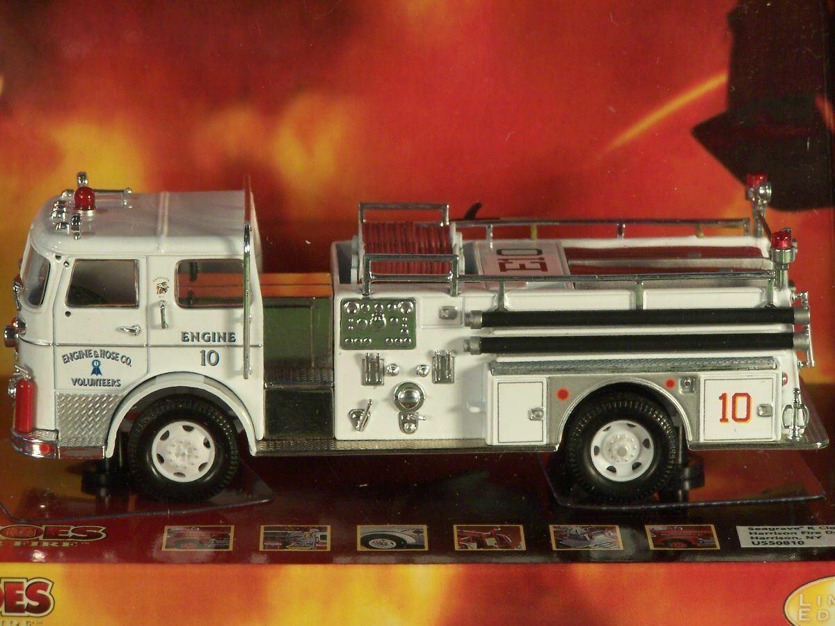 CORGI Seagrave K Closed Cab Fire TruckHarrison NYUS50810