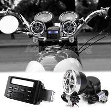 Waterproof Motorcycle Radio Audio For Harley Davidson HD Sportster Dyna Softail