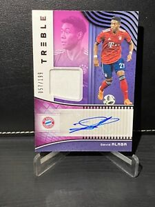 2018-19 Panini Treble Soccer David Alaba patch auto