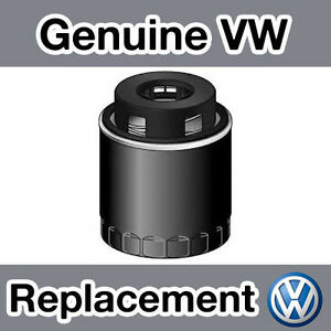 Genuine-Volkswagen-GOLF-MKVI-1K-1-4TSI-10-Filtro-de-aceite