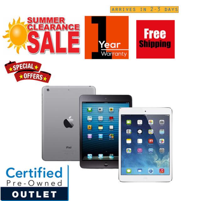 New Apple iPad mini 1st Gen 16GB/32GB/64GB Wi-Fi+3G | FREE 1 YEAR WARRANTY