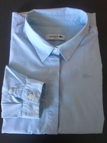 Clair Lacoste Chemisier Fit Slim Coton Femme élasthane Bleu T40 Rv5vYq