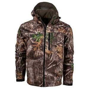 Realtree Edge Fleece Jacket Defender Camo Wind King's Hunter 61vBq68