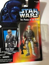 Hasbro Star Wars Power Of The Force Han Solo In Hoth Gear Action Figure