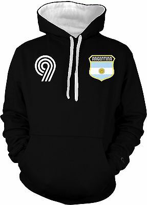 Women Messi Football Soccer Warm Sweatshirts Hoodie Pullover Jacket Sweater