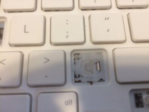 "Apple MacBook 13.3/"" A1342 2009 Unibody White Keyboard keys"