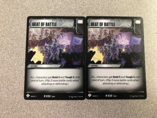 Transformers TCG Siege Wave 3 RARE Battle Cards  *You Choose*