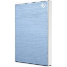 Seagate Backup Plus Slim 2TB External Hard Drive Light Blue USB 3.0(STHN20004...