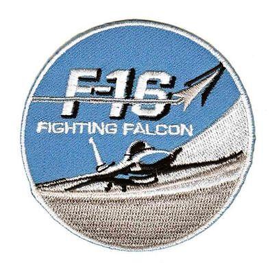 be78 F-16 Fighter US Air Force Patch Aufnäher Applikation Bügelbild 8,3 x 10,8cm