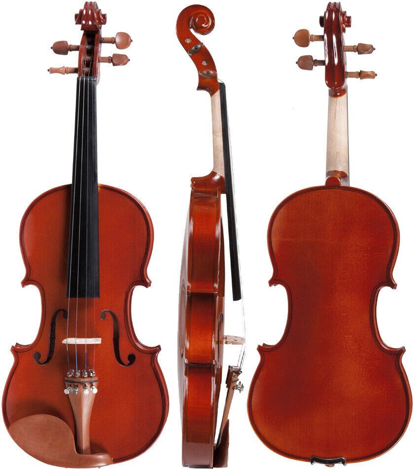 DE Geige (Violine) 3 4 M-tunes No.150 hölzern - spielbereit