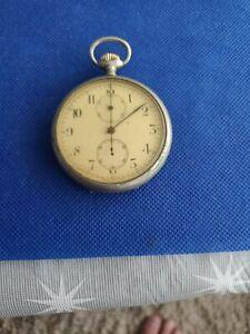 Antique Longines chronograph Pocket Watch.