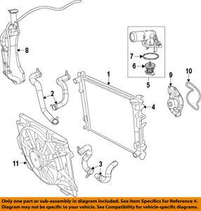 image is loading vw-volkswagen-oem-09-12-routan-radiator-cooling-