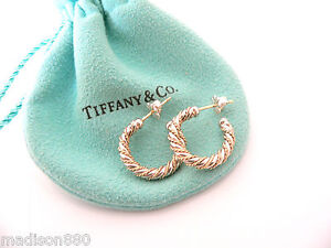 Image Is Loading Tiffany Amp Co 18k Gold Silver Twisted Cable