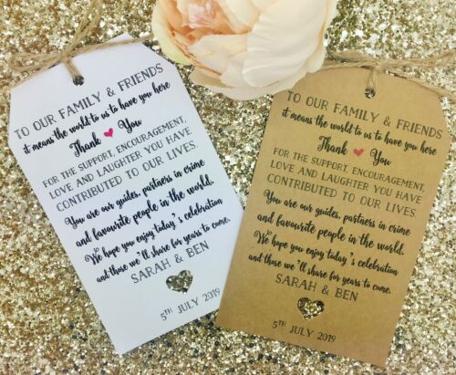 Destination Thank You Welcome Bag Tags Hotel Bag Labels For Wedding Abroad