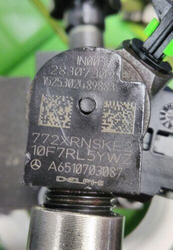 MERCEDES Sprinter W906 313 CDI 2.1 Iniettore Carburante OM651 A6510703087 28307309