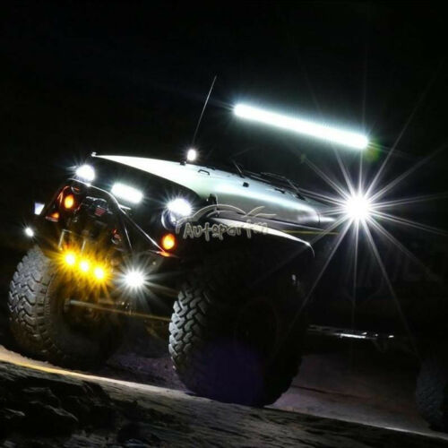 500W 52INCH LED WORK LIGHT BAR COMBO SPOT/&FLOOD DRIVING OFFROAD LAMP 4WD