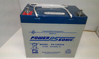 Ps 12v 55ah (replace 50ah & 60ah Of Same Size) Agm/gel Mobility Scooter Battery