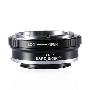 K-amp-F-Concept-Adapter-for-Canon-FD-Lens-to-Sony-NEX-E-Mount-A7-A7R-A7S-Camera-Body