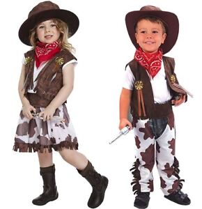 Toddler Baby Boy Girl Costumes Cowboy Chef Cosplay Party Fancy Dress Up Outfits
