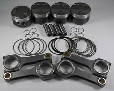 Nippon Racing Honda H22A4 Type S Piston & Rod Kit Scat H-BEAM 87.5mm SH SI H22