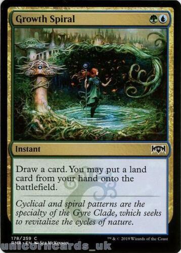 Throne of Eldraine Brawl Decks Growth Spiral Common Mint MTG Card