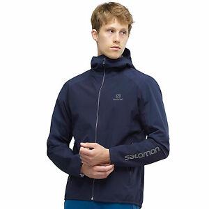 Details zu Salomon Outline Jacket 2.5 Layer Herren Regenjacke Windjacke Funktionsjacke NEU