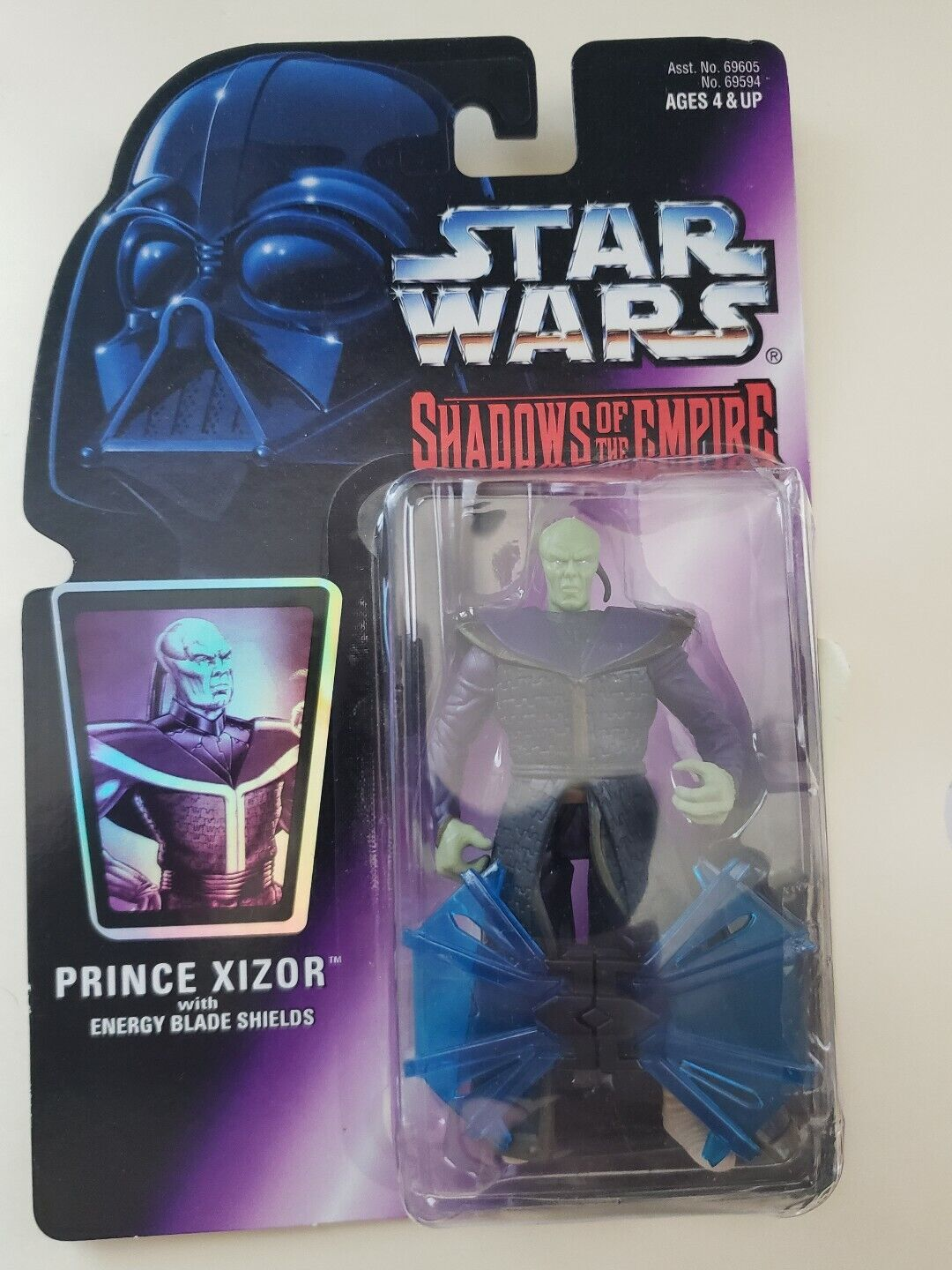 Prince Xizor 1996 Shadows of the Empire SOTE Star Wars MOC