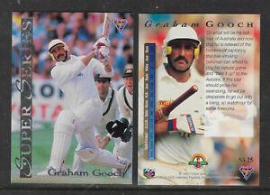 GRAHAM-GOOCH-England-1994-FUTERA-ASHES-SUPER-SERIES-CRICKET-CARD-SS25