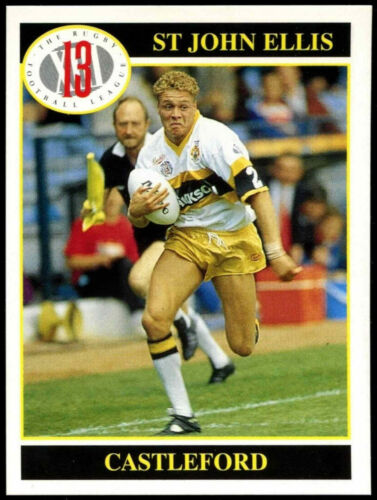 St john ellis #22 merlin rugby football league 1991 trade card (C247)