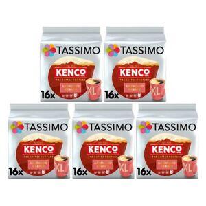Tassimo T Discs Kenco Americano Grande 5 x 16 Coffee Pods 80 Drinks